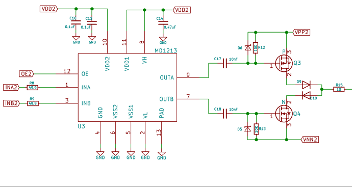 Mosfet Driver Circuit General Electronics The Contextual